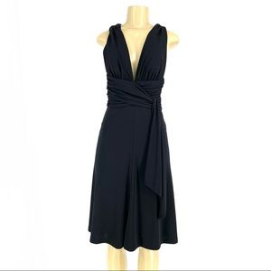 White House black market Fit Flare Dress